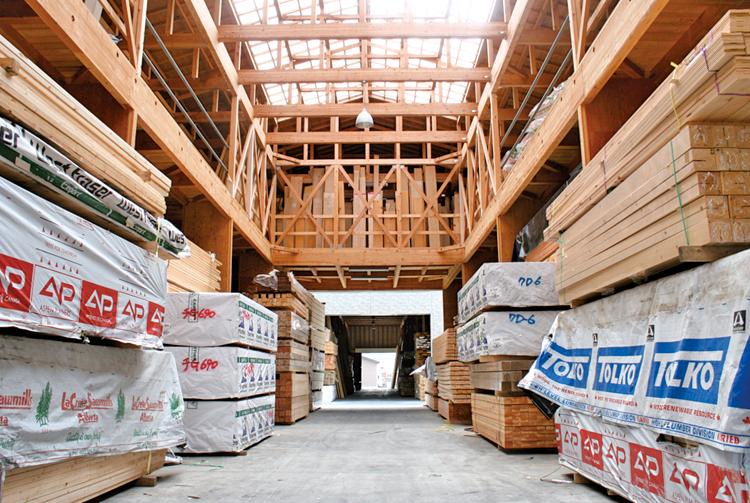 第二木材倉庫